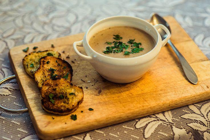 Готовим вместе: грибной суп-пюре с сыром km-the-pled.ru