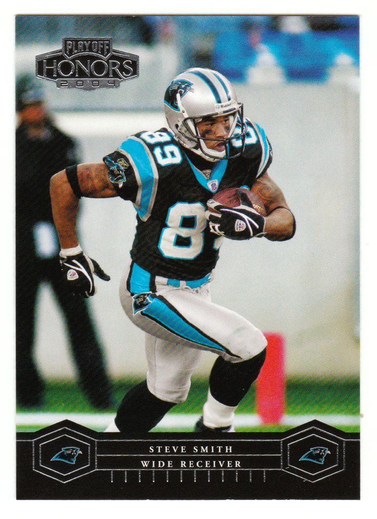 Steve Smith # 16 - 2004 Playoff Honors Football