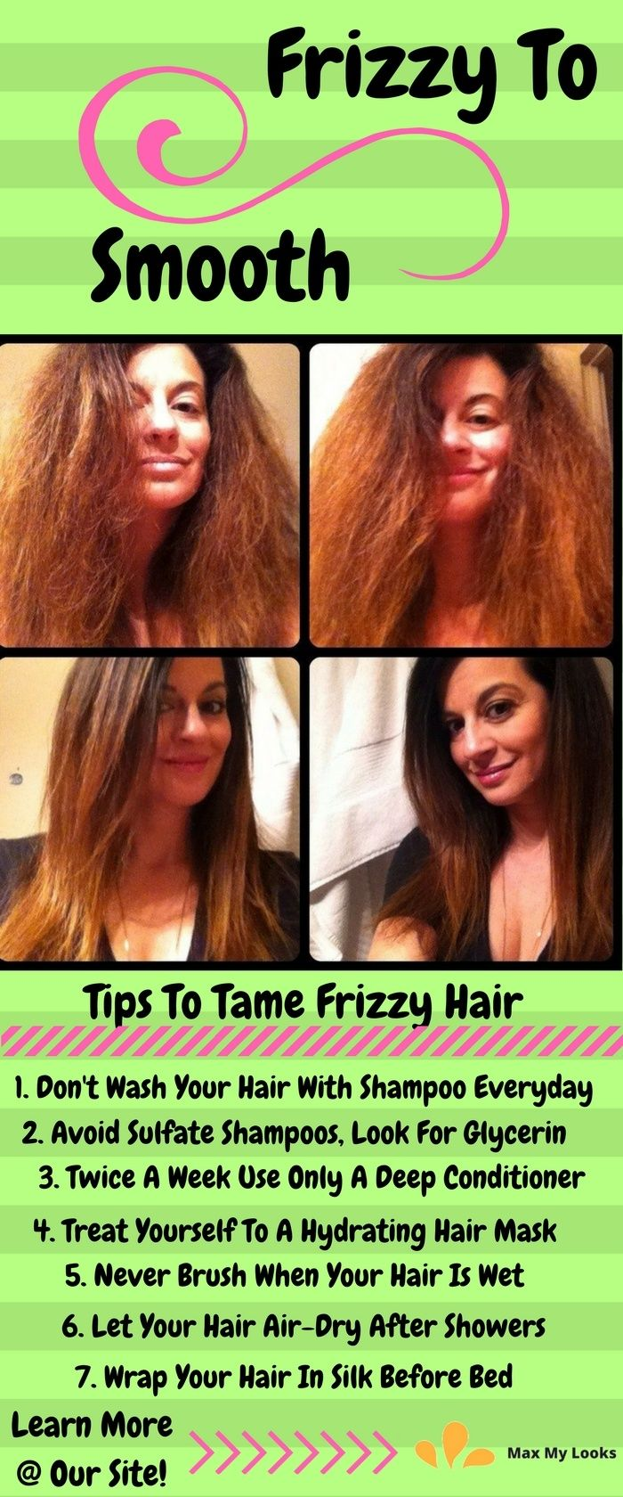 How To Tame Frizzy Hair Tips And Tricks To De Frizz Forever