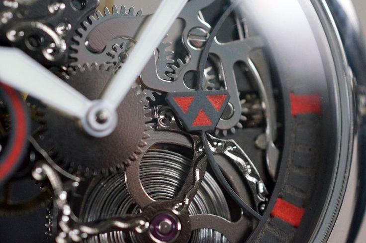 Daedalian Skeletonized Wristwatch by Wilk Watchworks