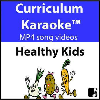 This K-6 song is a positive behaviours, curriculum-aligned song celebrating good nutrition, exercise and healthy living. It helps students to recognize the relationship between food & lifestyle choices and performance & wellbeing. *Tip: Sing and discuss Chorus only, with younger DETAILS & DOWNLOADABLE: http://www.teacherspayteachers.com/Product/HEALTHY-KIDS-Curriculum-Karaoke-MP4-Song-lyrics-for-your-whiteboard-3224910
