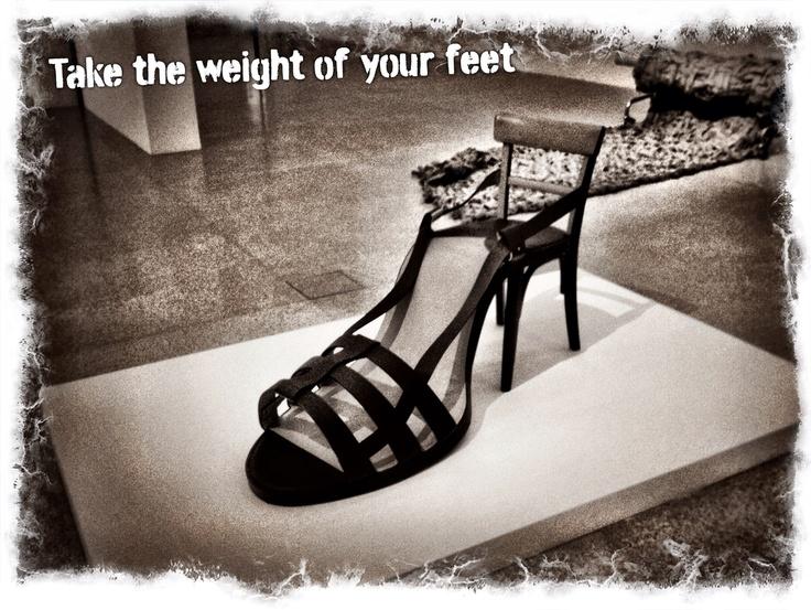 Seat or feet