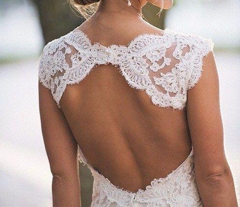 .: Lace Weddings, Fashion, Lace Wedding Dresses, Style, Clothes, Beauty, Lace Back, Wedding Dream