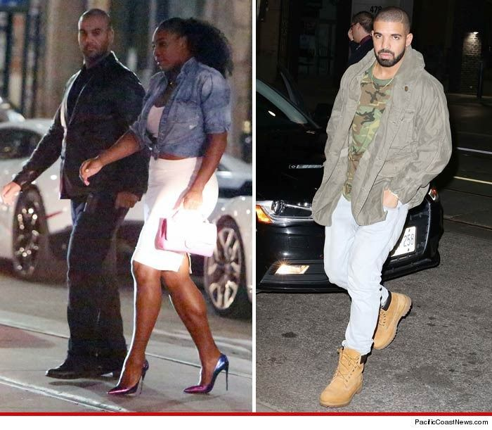 Serena Williams hangs out with Drake's mom at his restaurant opening in Canada - http://www.nollywoodfreaks.com/serena-williams-hangs-out-with-drakes-mom-at-his-restaurant-opening-in-canada/