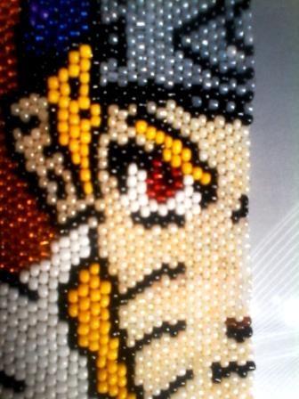 naruto seed beads