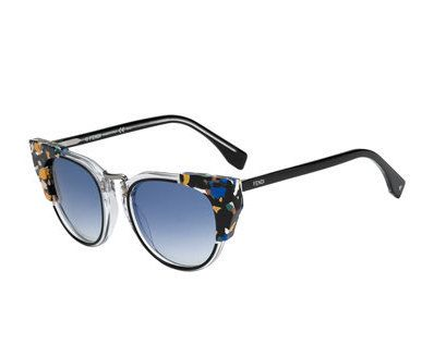FENDI Galassia Marble Block Sunglasses Blue/Orange $395 SHIPS FREE  (Compare Elsewhere $465) SHIPS FREE BEST PRICES YOU WILL FIND ANYWHERE ON GENUINE LADIES DESIGNER BRANDS! FREE WORLD SHIPPING & LOCAL DELIVERY AVAILABLE AT THE SURF CITY SHOP in Huntington Beach, California Major Credit Cards Accepted