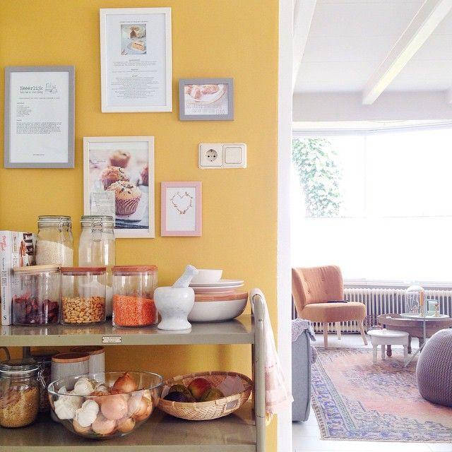 17 beste idee n over n keukenmuur op pinterest lange keuken keuken opstellingen en keuken - Keuken muur kleur idee ...
