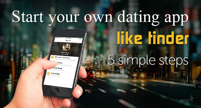 Start your own dating app like Tinder in 5 easy & simple steps.
