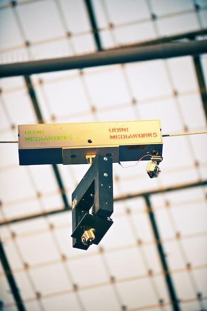 "our ""poor man's spider cam"" @ the 2012 Munich Boulder World Cup"