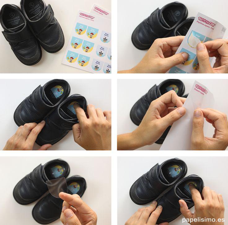 como-pegar-etiquetas-con-nombre-en-zapatos-de-nino
