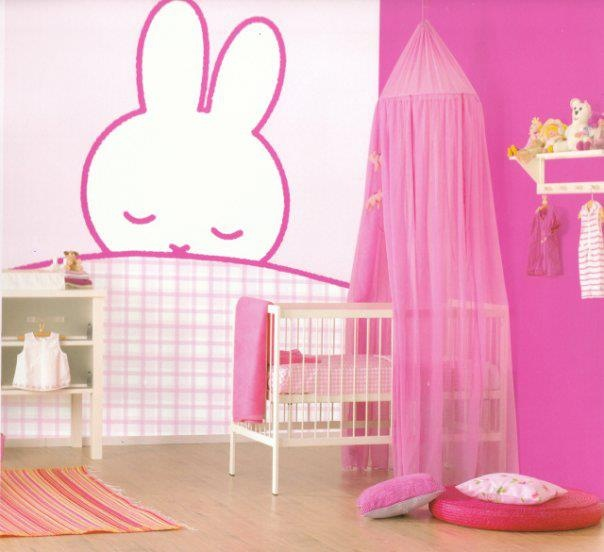 Pink Baby Room