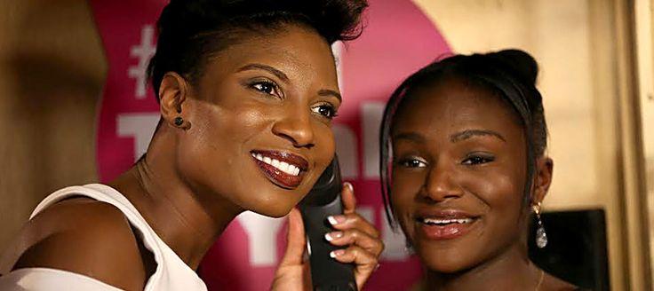 Denise Lewis and Dina Asher-Smith make a #BigThankYou call.