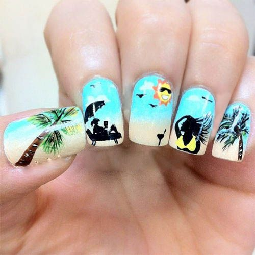 9 Best Summer Nail Art Designs: