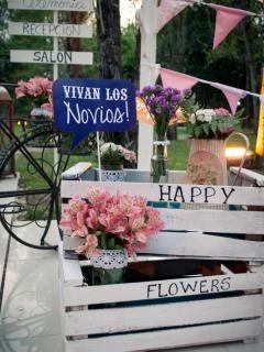 Casamientos Online - Estilo Shabby Chic, Ambientación y Centros de Mesa en Buenos Aires