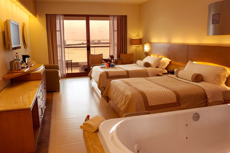 The Ocean View Suite at the Beach Palace Cancun Resort.
