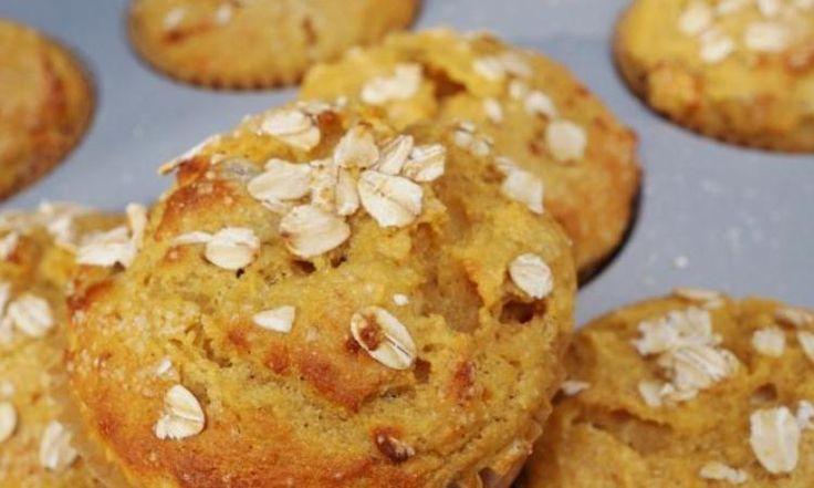 Un petit délice d'automne...un muffin à la citrouille et à la pomme