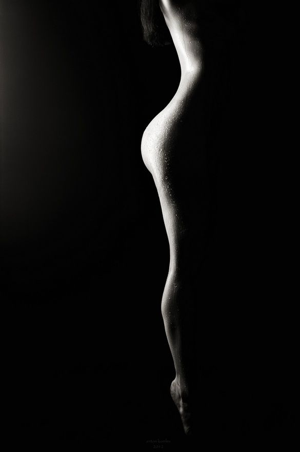 Smoke by Anton Komlev... most beautiful curve in the world...
