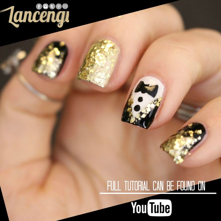 Best 25 party nails ideas on pinterest gold tip nails black best 25 party nails ideas on pinterest gold tip nails black gold nails and nude nails with glitter prinsesfo Image collections