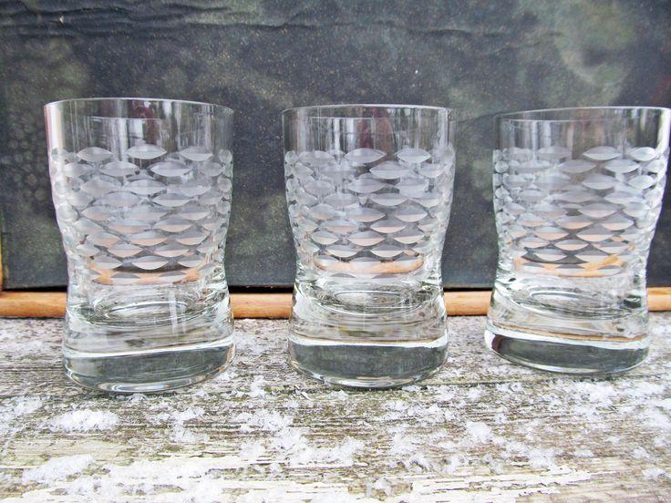 3 Saftgläser / Whiskygläser/ Wasserglas /aus Kristall Kristallgläser  Shot, Kurzer, Brandy von Gernewieder auf Etsy