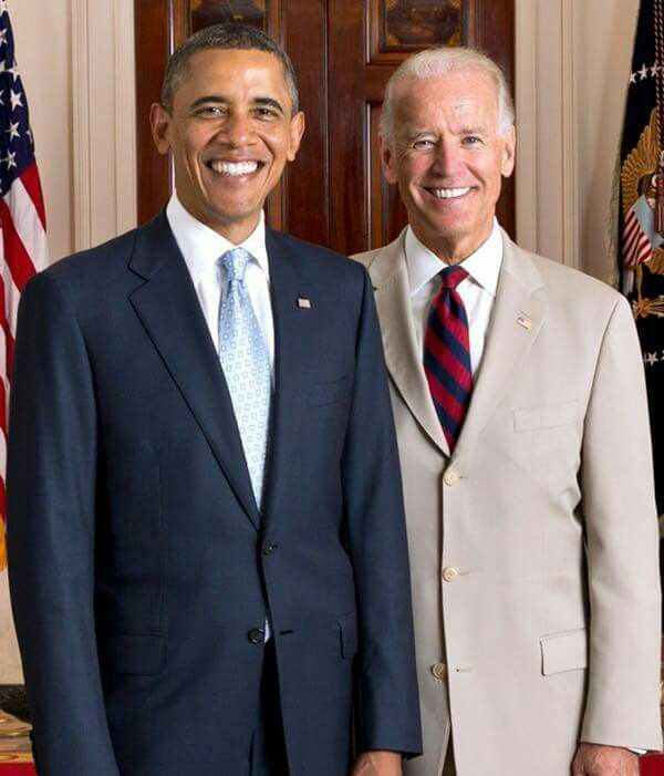 Sure gonna miss these guys. President Obama & Vice-president Biden