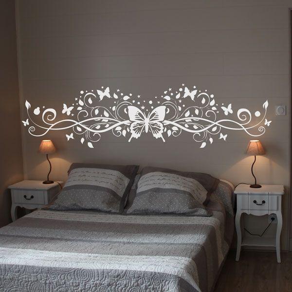 sticker t te de lit adh sif d coratif sticker. Black Bedroom Furniture Sets. Home Design Ideas