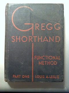 I took shorthand in high school and actually used it while working as a Kelly girl (Kelly Temporary Workers) in the summers while going to college.  Took notes in college using shorthand.