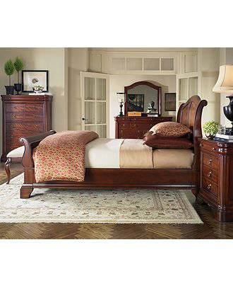 Bordeaux Louis Philippe Style Bedroom Furniture Collection   Furniture    Macyu0027s