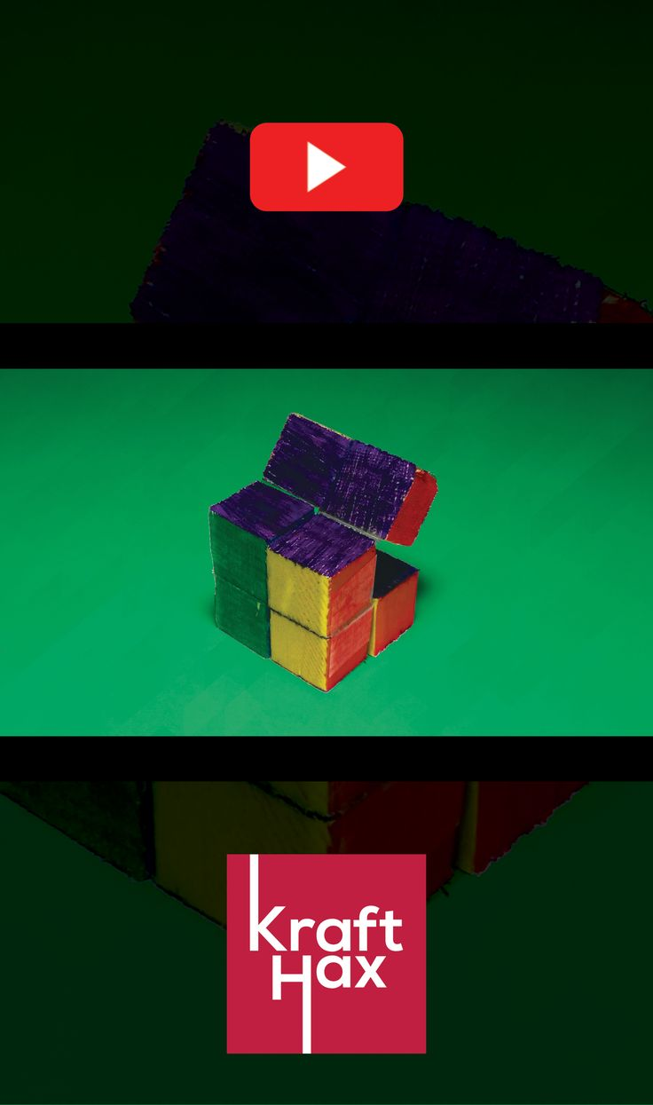 how to make a rubix cube out of wood