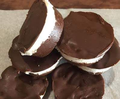 Recipe Paleo Choc-Coconut Nice Cream Cups (or Slice) by McDreamSteam - Recipe of category Desserts & sweets