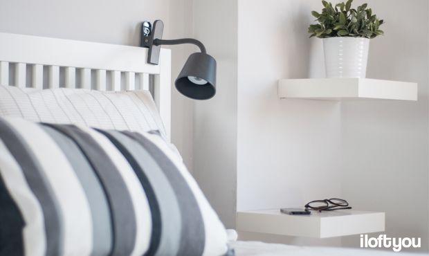 #proyectolescorts #iloftyou #interiordesign #ikea #barcelona #lowcost #alquilertemporal #bedroom #bardu #lack #tisdag #fejka