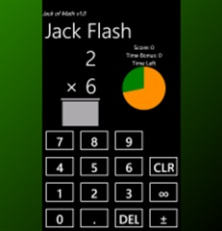 """I took your review into account with regard to how many digits show up.  As of the last update, the display now switches font sizes dynamically based upon the number of digits.  Hopefully this resolves the issues you found in that regard.""    Jack of Math developer: App Allow, Windows Phone, For Kids, Math Apps, Limit Users, Math Teaching App, Kids Math"