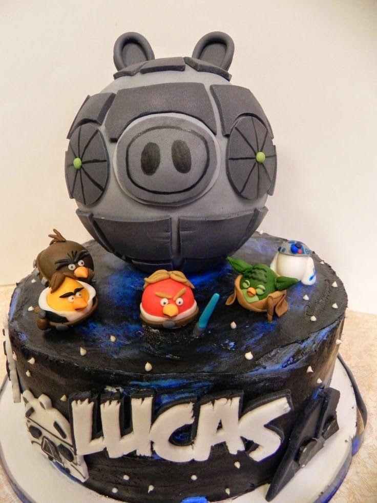 Modelos de Tortas de Angry Birds Star Wars : Fiestas Infantiles Decora