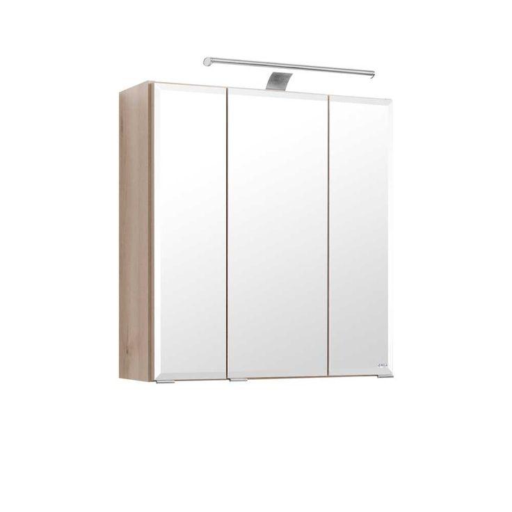 3D Spiegelschrank In Buche Hell 60 Cm Breit Jetzt Bestellen Unter:  Https://. BadezimmerBuecher