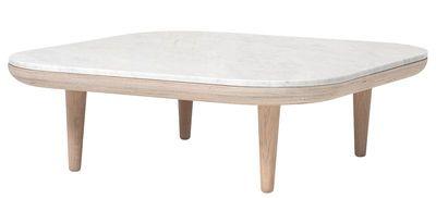 Table basse FLY / Marbre - 80 x 80 cm - And Tradition j'adore, mais je remplacerait bien le marbre blanc par du mdf... le prix serait plus doux non?? ;)