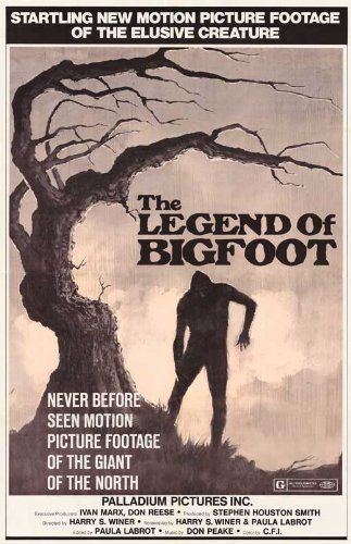 Legend of Bigfoot Movie Poster (11 x 17 Inches - 28cm x 44cm) (1976)