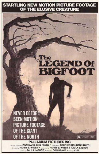 Legend of Bigfoot Movie Poster (11 x 17 Inches - 28cm x 44cm) (1976)
