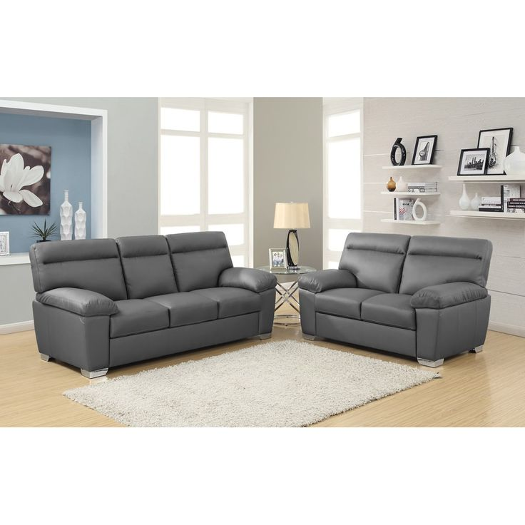 Dark Grey Leather Sofa Check More At Http://casahoma/dark
