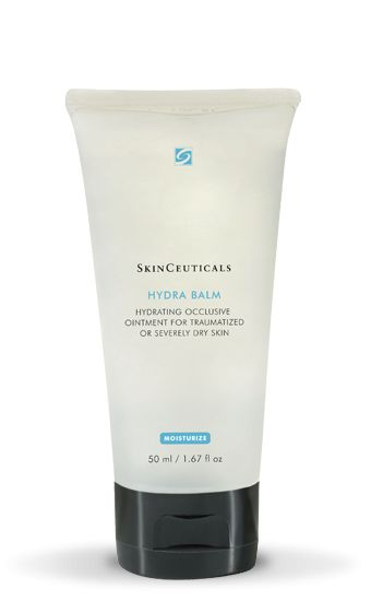 SkinCeuticals Hydra Balm is a hydrating occlusive ointment for traumatized or severely dry skin. Buy it online at Welch Skin Care Center.