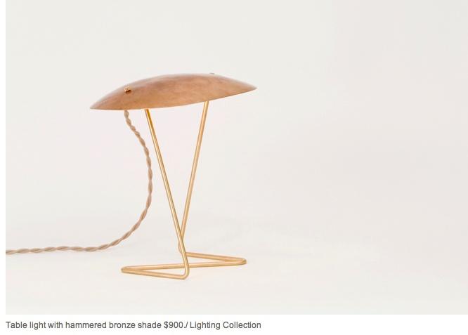 Beautiful Lindsey Adelman table lamp