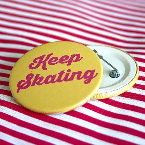 Bottom: Keep skating amarelo 3,5cm - R$2,00   4,5cm - R$3,00 Skating botton useheti.tanlup.com