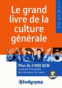 Marie Berchoud et Benoît Berthou - Le grand livre de la culture générale.
