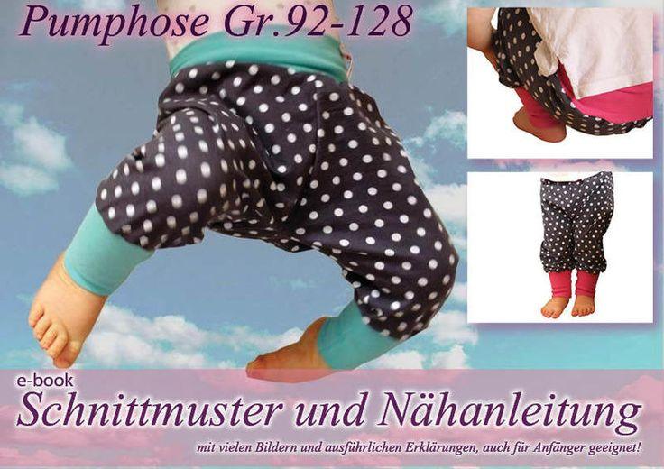 Pumphose Hose Nähanleitung / Schnittmuster von selbermacher auf ...