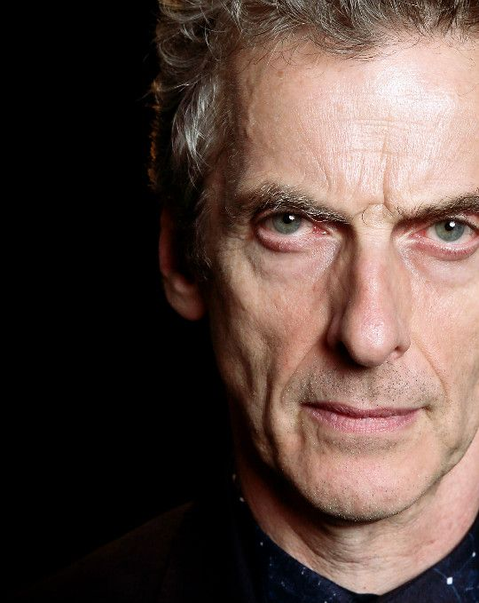 Peter Capaldi photographed by Chris Jackson.