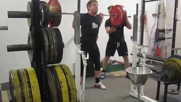 Squat: 190 kg. Raw. Bodyweight 90 kg. Andre Gangvik
