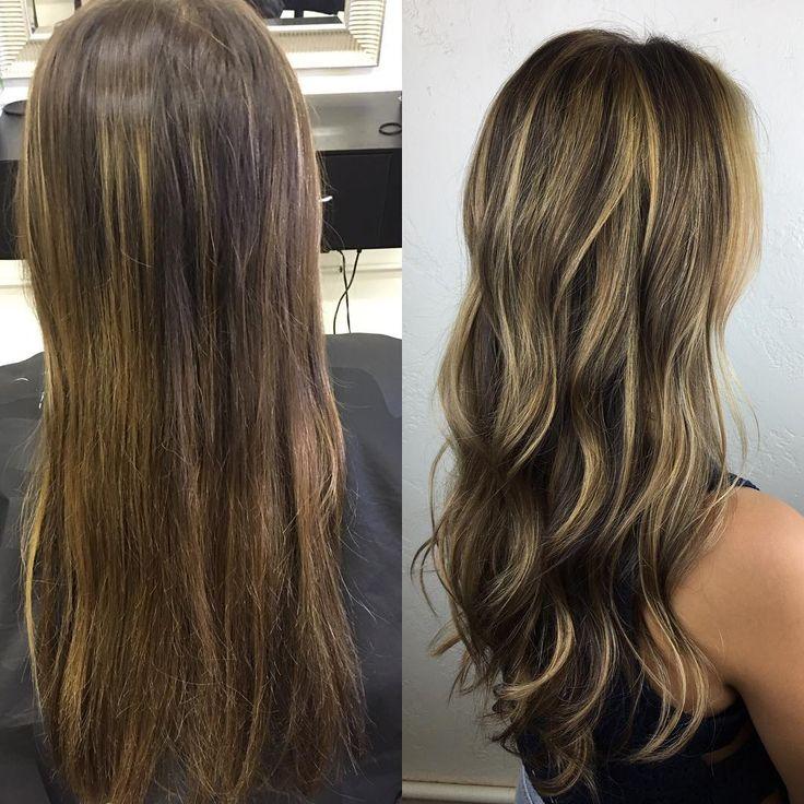 cool Техника калифорнийское мелирование на темные волосы (50 фото) — Окрашивание на средние и короткие локоны Читай больше http://avrorra.com/kalifornijskoe-melirovanie-na-temnye-volosy-foto/