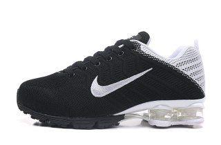 pretty nice 1b6a7 2dcd5 Mens Womens Nike Air Shox Running Shoes Black white