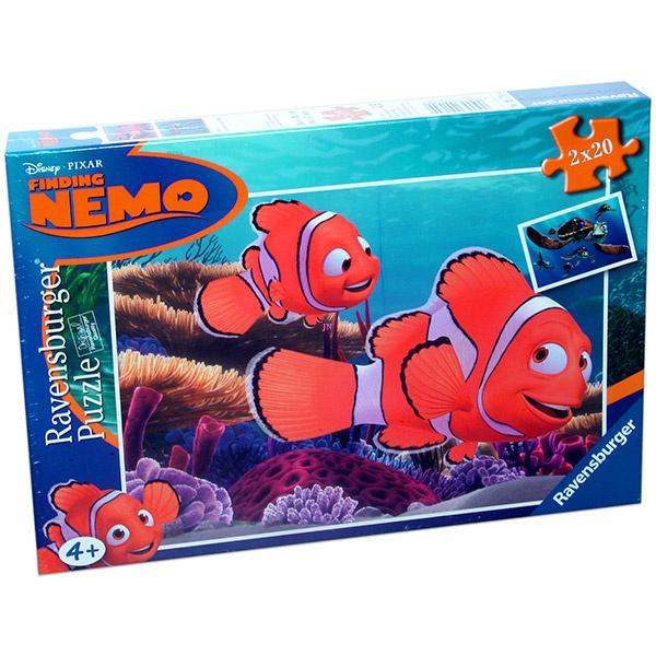 Némó nyomában 2 x 20 db-os puzzle
