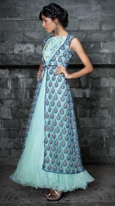 Anarkali Salwar Suits | Strandofsilk.com - Indian Designers