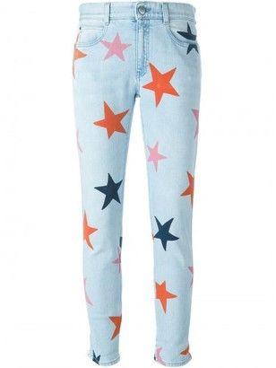 Stella McCartney 'Skinny Boyfriend Star' jeans