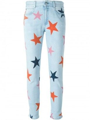 Stella McCartney 'Skinny Boyfriend Star' jeans